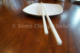 Restaurants, Chopstix on plate