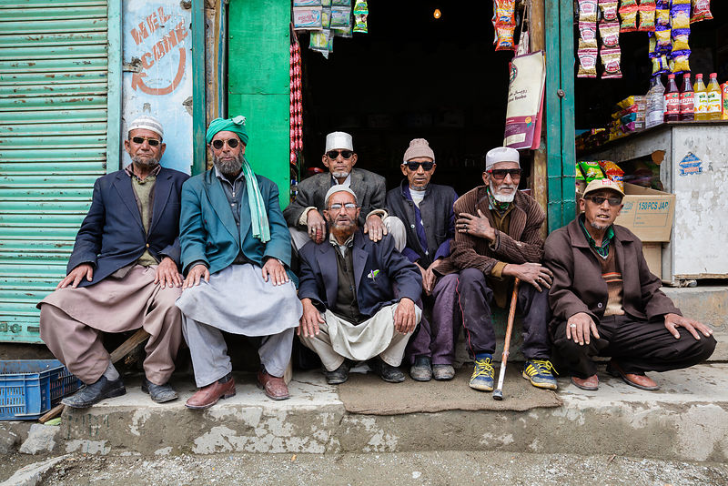 Group of Men with Sunglasses