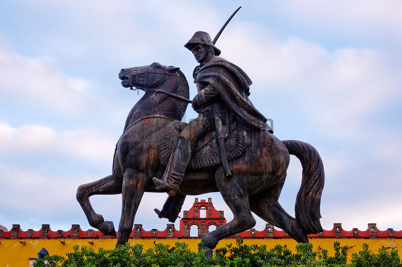 Statue of Mexican Revolutionary