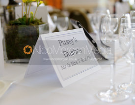 Tables were named after Cottesmore Hunt covers