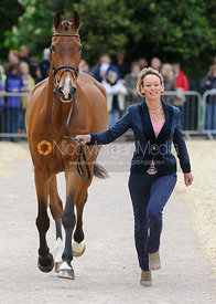 Mary King and IMPERIAL CAVALIER - First Horse Inspection, Mitsubishi Motors Badminton Horse Trials 2014