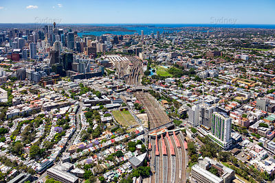 Redfern Station to Sydney City