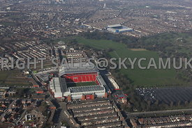 Liverpool football Club Anfield and Everton Football Club Goodison Park Liverpool
