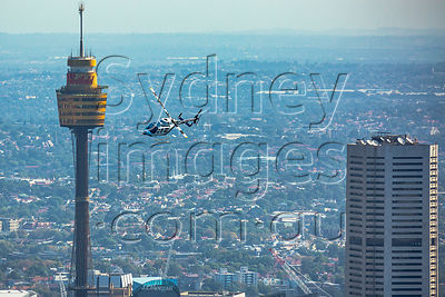 Chopper Over Sydney