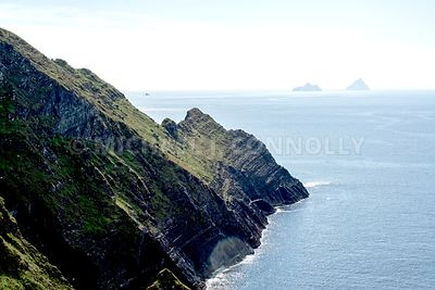Skellig Islands From Valencia Island- Ireland