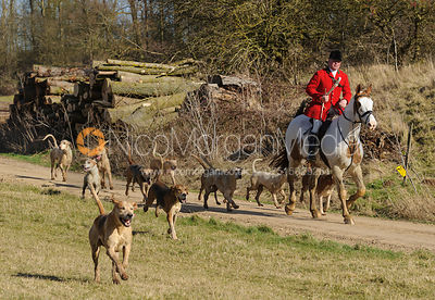 Joint meet with Fitzwilliam, Witham on the Hill 13/2 photos
