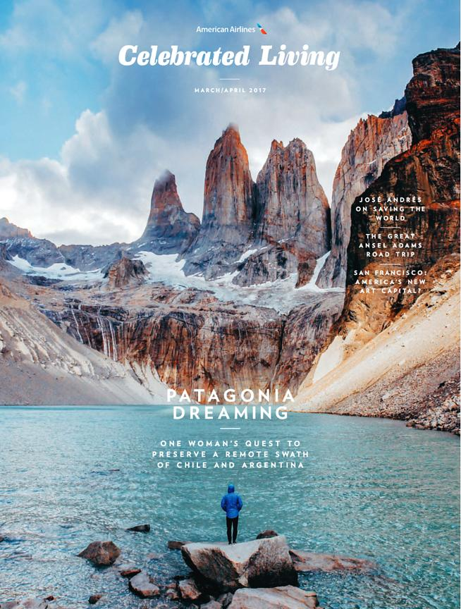 Celebrated Living Magazine (USA) - March 2017 photos