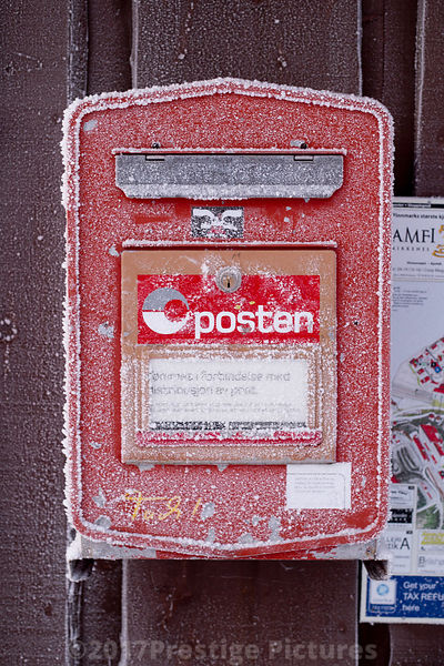 Frozen Postal Box in Kirkenes