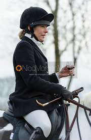 Hilary Butler - The Cottesmore Hunt at Hill Top Farm 10/12/13