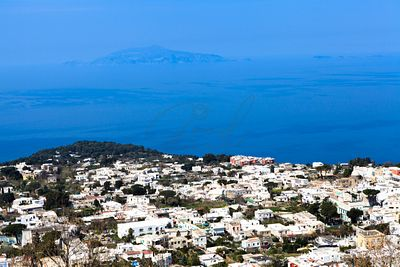 Overhead View of Town of Anacapri