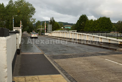 The Tomnahurich Bridge over the Caledonian Canal in Inverness