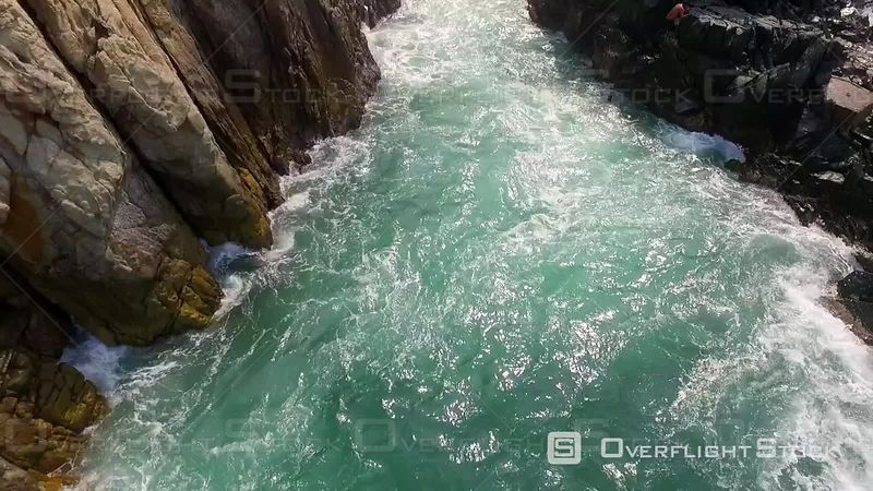 La Quebrada Cliff Divers Drone Video Acapulco Mexico