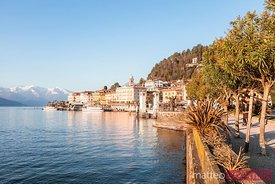 Bellagio waterfront, lake Como, Italy