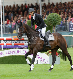 Burghley winner Jonathan Paget and CLIFTON PROMISE - show jumping phase, Burghley Horse Trials 2013.