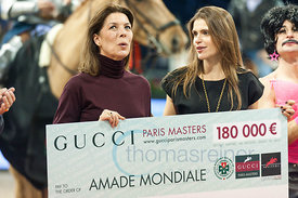 Gucci Masters gives 180.000 € to Amade Mondial