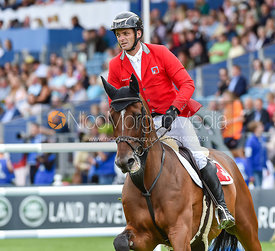 Werner Muff and DAIMLER - FEI Nations Cup, Dublin Horse Show 2017