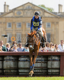 Colleen Rutledge and SHIRAZ - Cross Country - Mitsubishi Motors Badminton Horse Trials 2013.