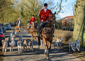 Chris Edwards - The Cottesmore hounds at Owston 29/11