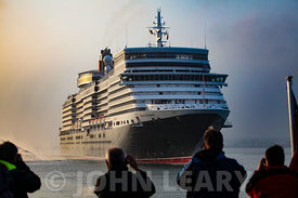 Queen Elizabeth's Maiden Arrival at Southampton.