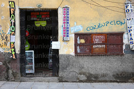 Photocopy shop that also offers hair extensions, La Paz, Bolivia