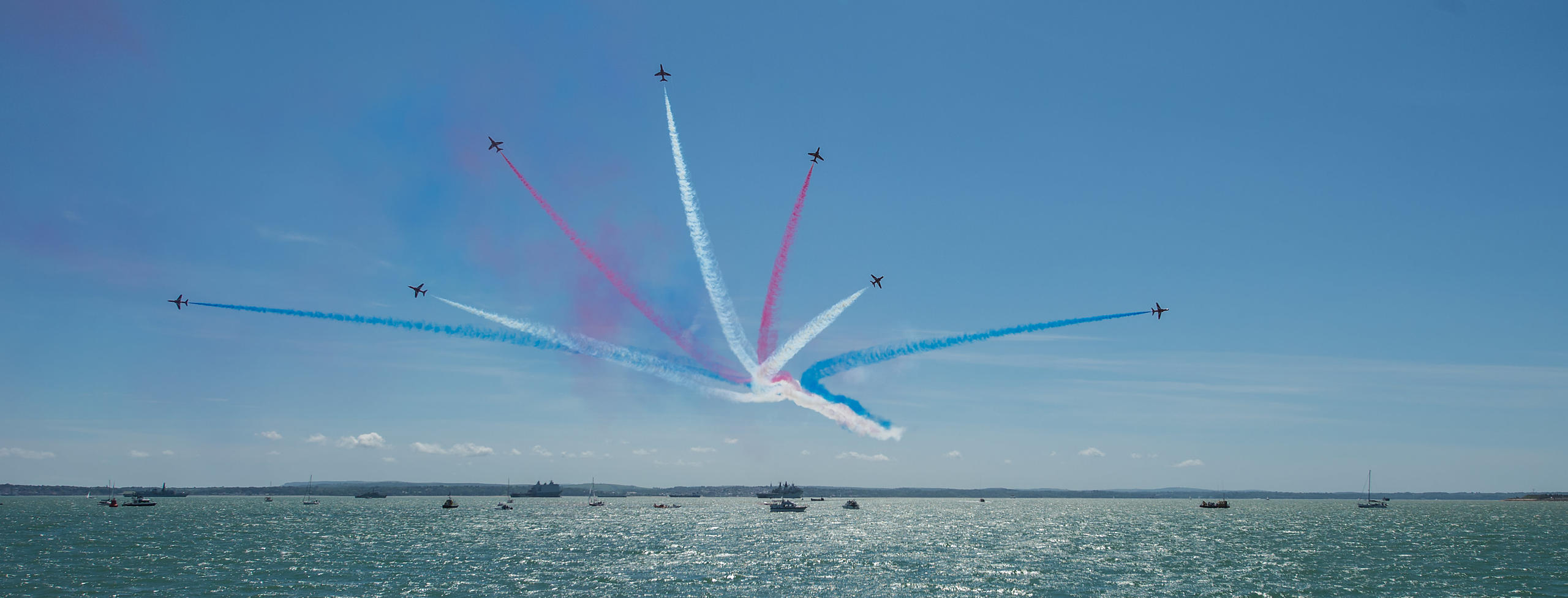 Red Arrows Display