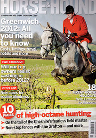 Horse & Hound cover photography, 17th February 2011