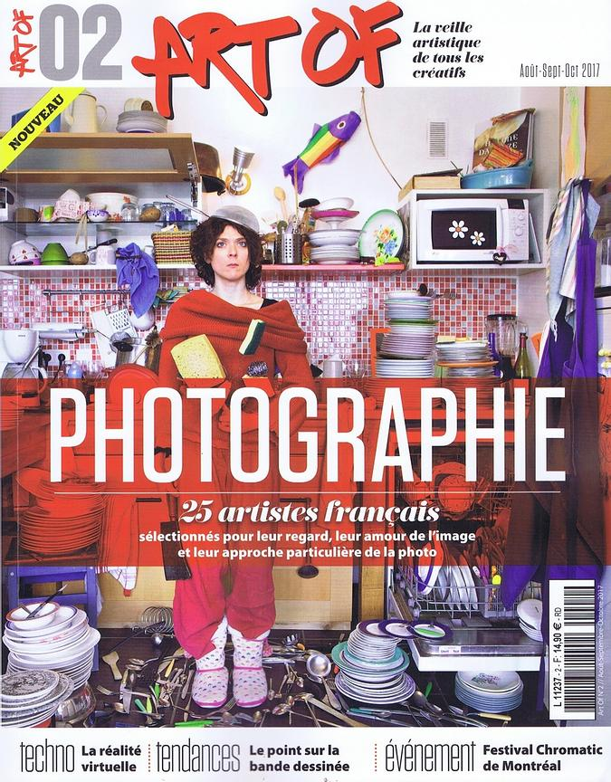 Art Of Magazine (France) - Août 2017 photos