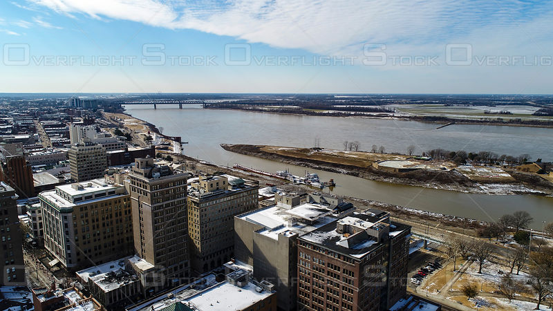 Downtown Memphis Tennessee USA