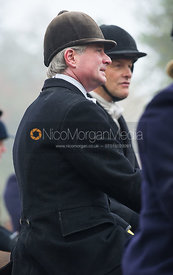 Nick Wright and Charlie Smith at the meet - The Cottesmore Hunt at the Blue Ball 11/12