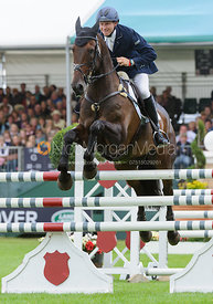 Michael Owen and THE HIGHLAND PRINCE - show jumping phase, Burghley Horse Trials 2013.