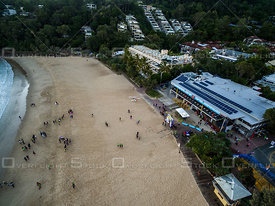 Noosa Main Beach and Surf Life Saving Club, Noosa QLD Australia