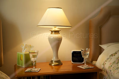 Lighted Bedside Lamp