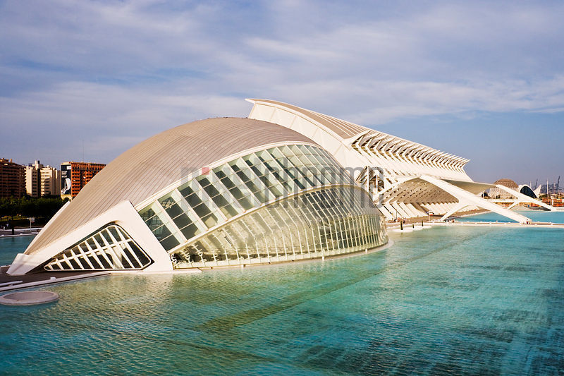 City of the Arts and Sciences by Santiago Calatrava Valencia Spain