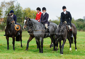 Belvoir Masters at the meet - The Belvoir Hunt at Long Clawson, 2-11-13