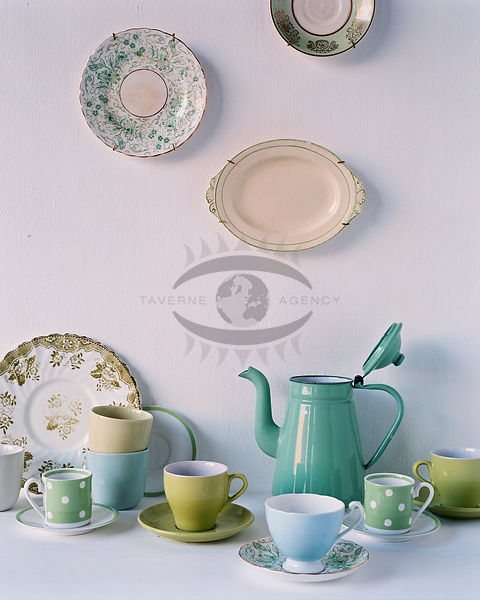 Crockery stock photos crockery