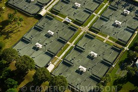 Aerial, Tennis Courts, Florida