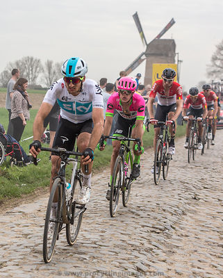 The Cyclist Matti Breschel - Paris-Roubaix 2018
