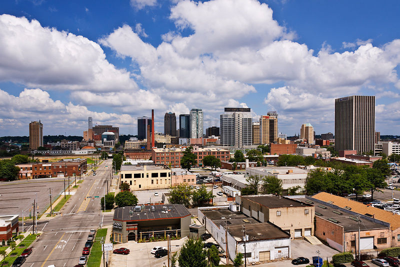 Downtown Birmingham Skyline