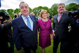 Alex Salmond wins Scottish Elections