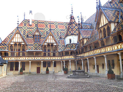 Hospices of Beaune Art Photographs