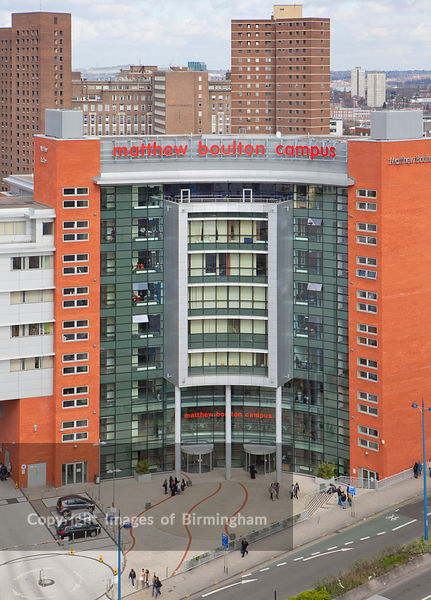 Matthew Boulton College, Birmingham, West Midlands. Matthew Boulton Campus.