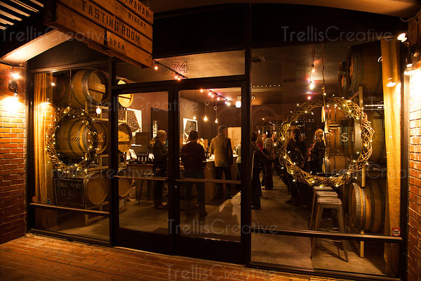 Napa Valley downtown wine tasting room Trahan