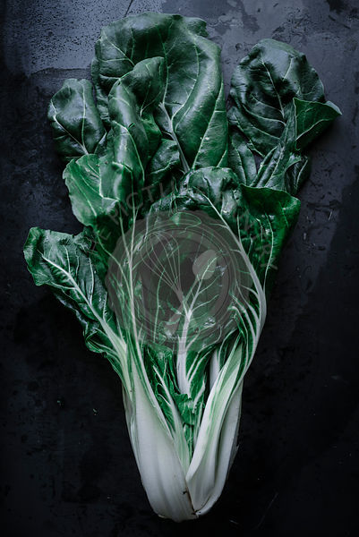 Chard or Swiss chard is a green leafy vegetable