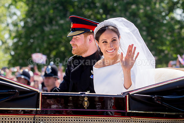 Royal Wedding Carriage Ride images