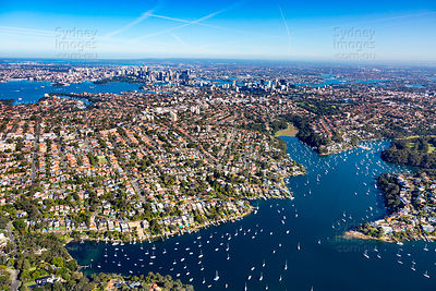 Middle Harbour to Sydney CBD