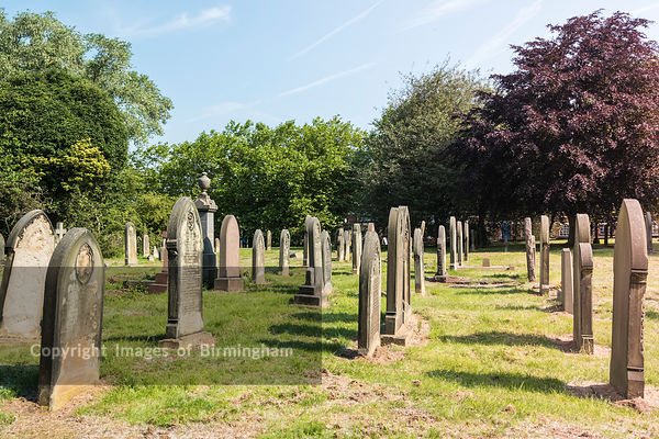 Warstone Lane Cemetery, The Jewellery Quarter of Birmingham, England
