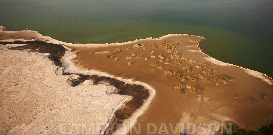 Aerial, Salt Lakes, Danakil Depression