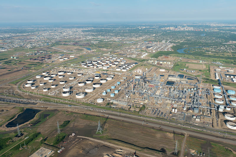 Oil Refineries, Edmonton