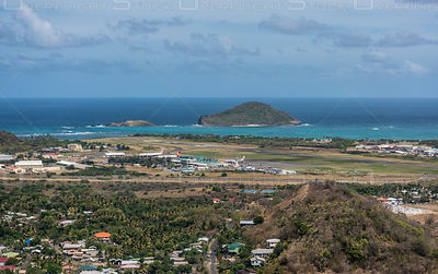 Hewanorra International Airport Saint Lucia Caribbean