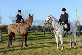 The Belvoir Hunt at Holwell